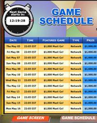 bingo liner mega bingo network bingo game schedule