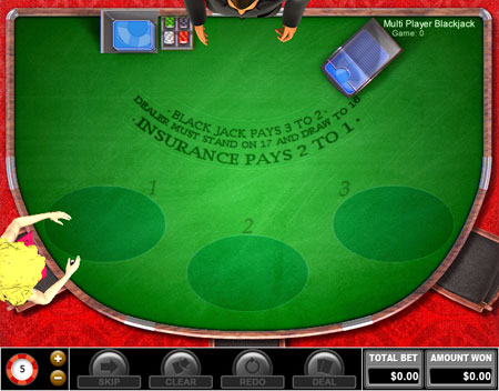 bingo liner multiplayer blackjack online casino game