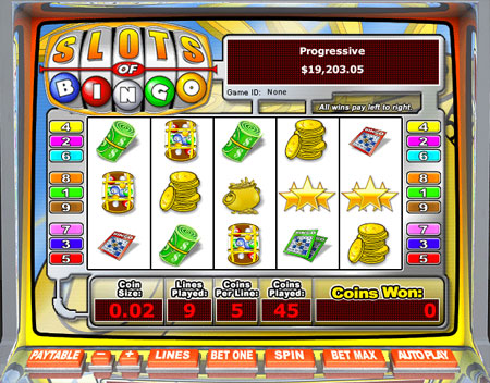 Bingo liner online 2007 game slot machines progressive jackpots new jersey gambling arrest